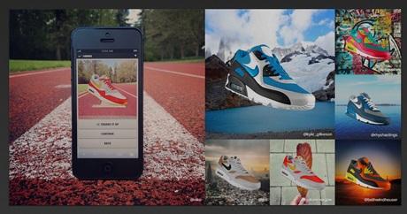 Кейс: Nike предлагает пользователям создать свою уникальную пару кроссовок и показать в Instagram