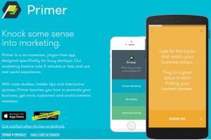 Приложение Google Primer с мини-уроками по маркетингу