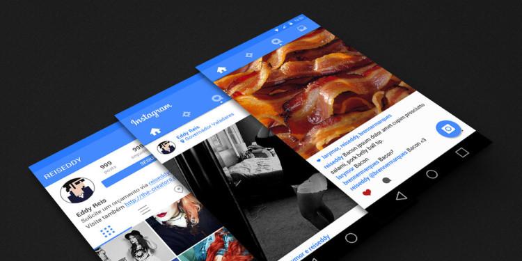 Изменение ленты новостей в Instagram