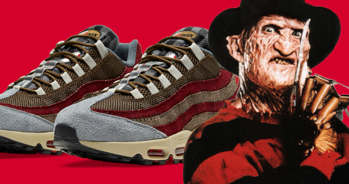 Стильний хорор: кросівки від Nike на честь Фреді Крюгера